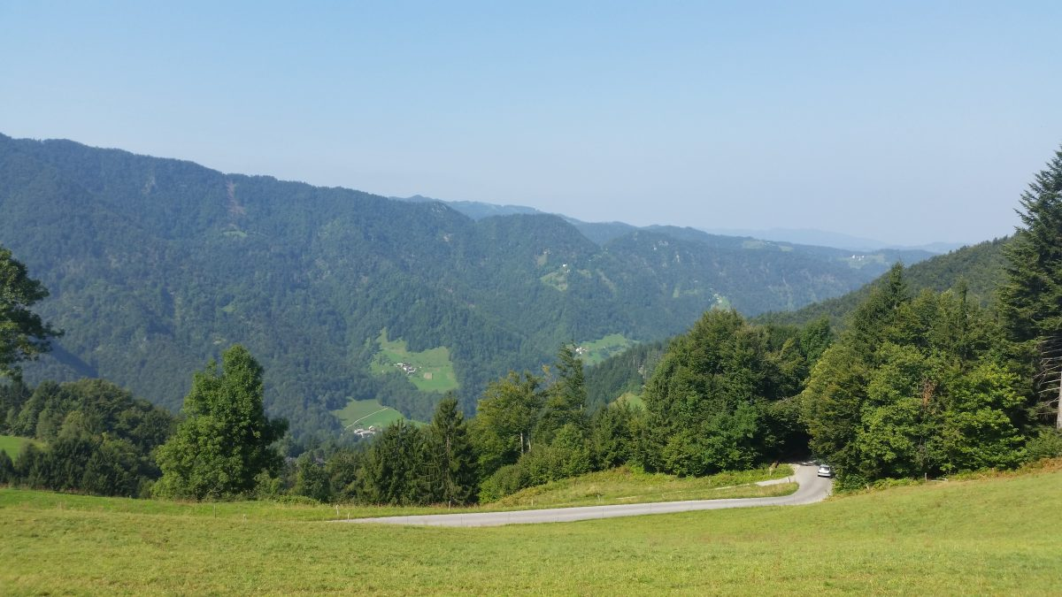 Day 45 : Part I : The drive to Tolmin, Slovenia (MotörCity Blues Festival)