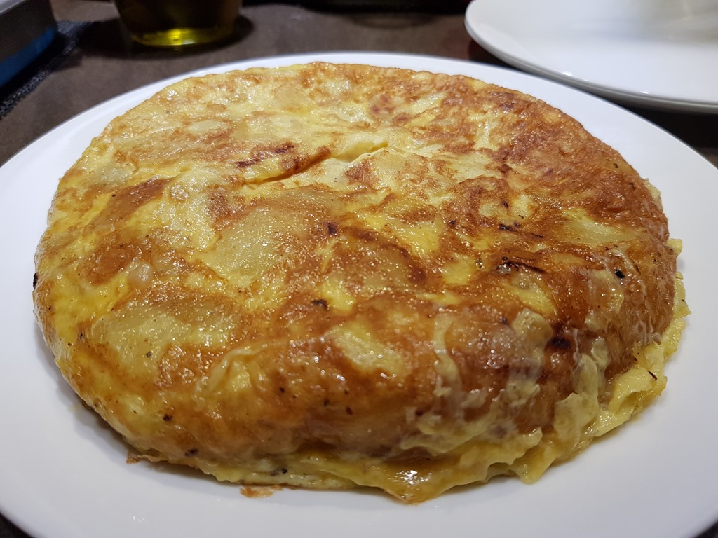 Spanish Tortilla with a soft centre