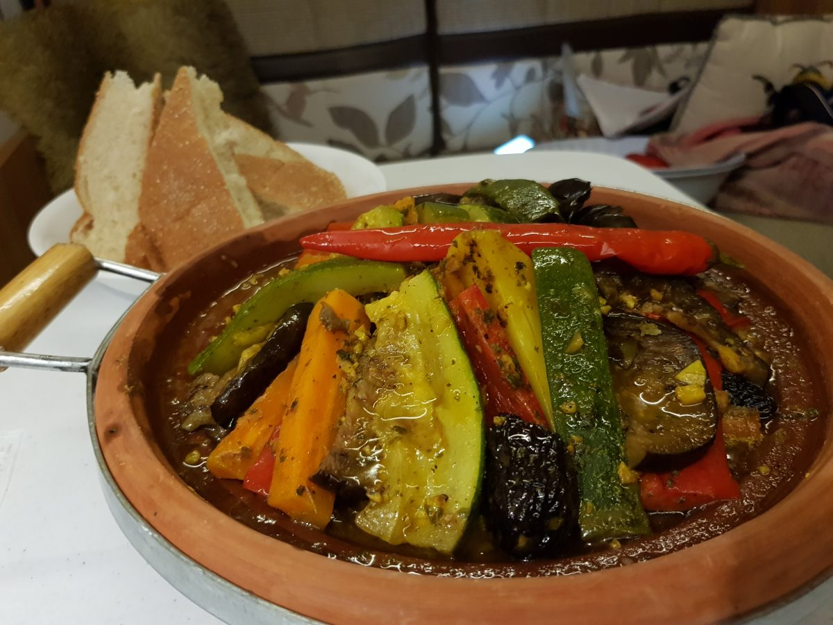 Vegetable (or meat!) Tagine
