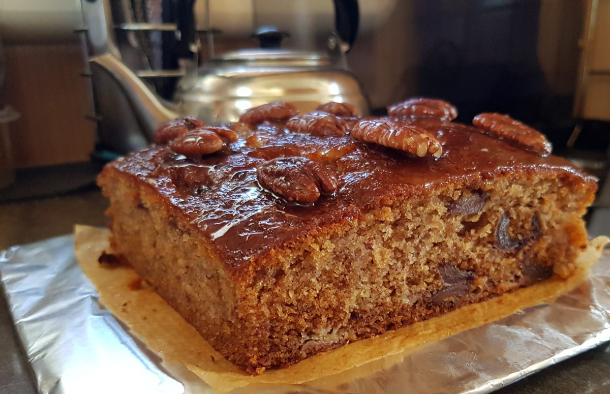 Date & Banana Loaf, cake or muffins